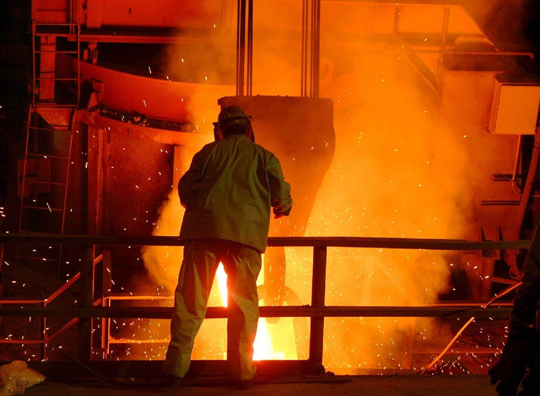 steel mill casting
